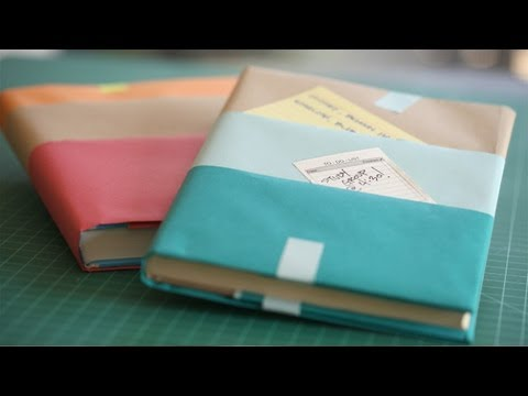Text Book Covers DIY: How To Make Yourself || KIN PARENTS
