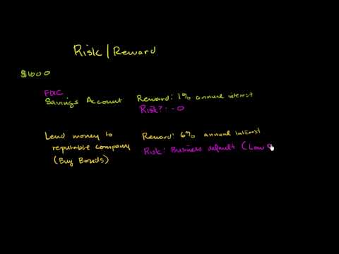 Risk and Reward Introduction