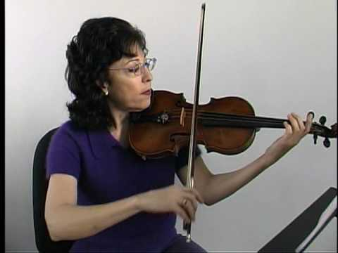 "Violin Lesson - Song demo - ""Ode to Joy"" Easy Version"