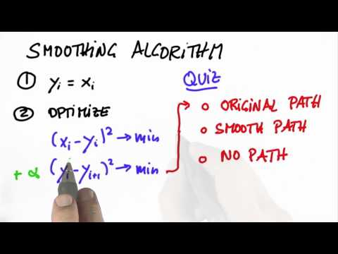 Smoothing Algorithm 3 - CS373 Unit 5 - Udacity