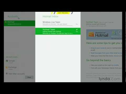 Windows 8 tutorial: How to use Metro apps | lynda.com