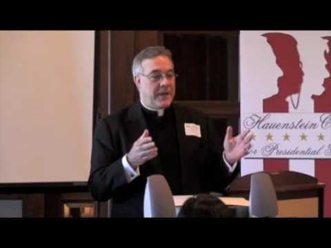 Rev. Robert Sirico on Leadership (1 of 8)