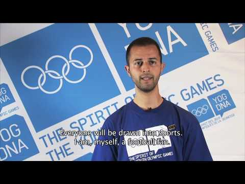 Young Ambassador - Morocco - Hamza Lachheb - Singapore 2010 Youth Olympic Games