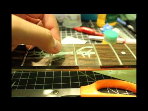 PROJECT RG - Part 5: Fretboard Inlay Decals