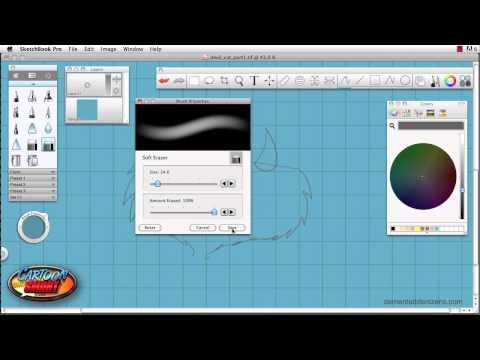 Sketch Book Pro Video Tutorial