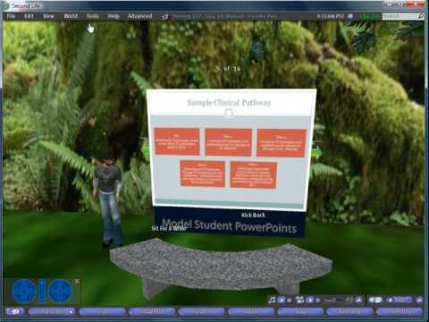 Second Life Tutorial: PowerPoint Presentations in Second Life - Part  2