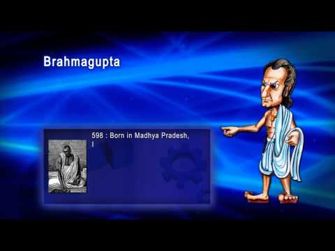 Top 100 Greatest Scientist in History For Kids(Preschool) - BRAHMAGUPTHA