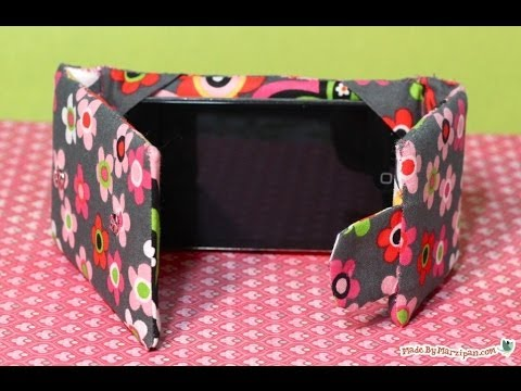 Sew an iPod Touch / iPhone Case Stand