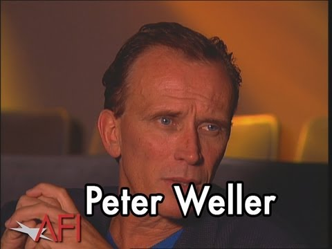 Peter Weller on NAKED LUNCH