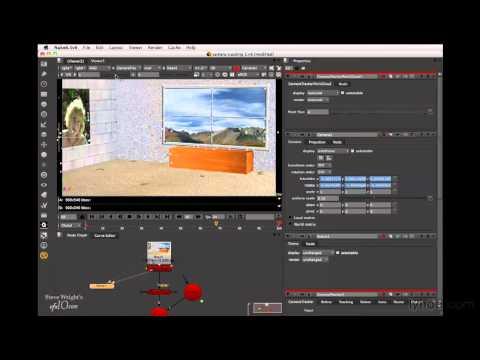 Nuke 6.3: Building a 3D film scene | lynda.com