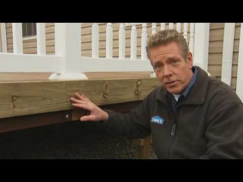 Tips on Deck Renovation, Part 2: Installing Composite Deck Railings & Lattice