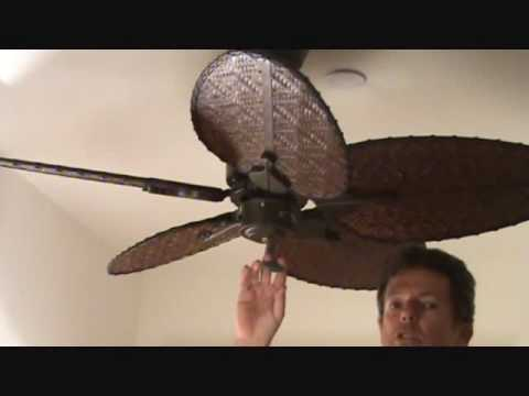 Operating a Ceiling Fan