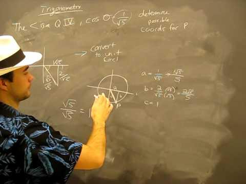 Trigonometric Ratios Example problem 3B: Trigonometry Trig Math help
