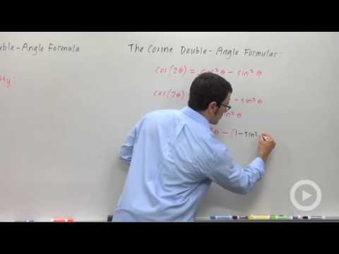 Precalculus - Other Forms of the Cosine Double-Angle Formula