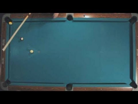 Pool Trick Shots / Fundamentals: Kicking 1-Rail
