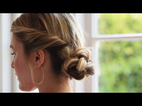 Romantic Up-do Hairstyle KIN BEAUTY