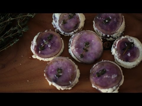Potato Cakes Recipe w/Goat Cheese & Thyme (How to Make It) || KIN EATS