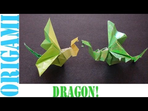 Origami Daily - 417: Dragon - TCGames [HD]
