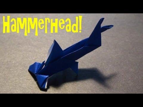 Origami Daily - 401: Hammerhead Shark - TCGames [HD]