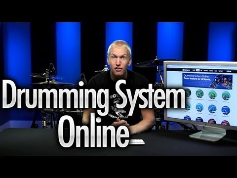 The NEW Drumming System Online-Interface