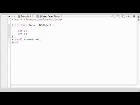 Objective C Programming Tutorial - 43 - Directives for Controlling Scope