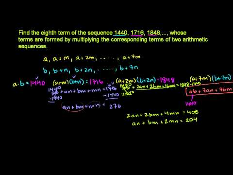 Advanced sequences and series