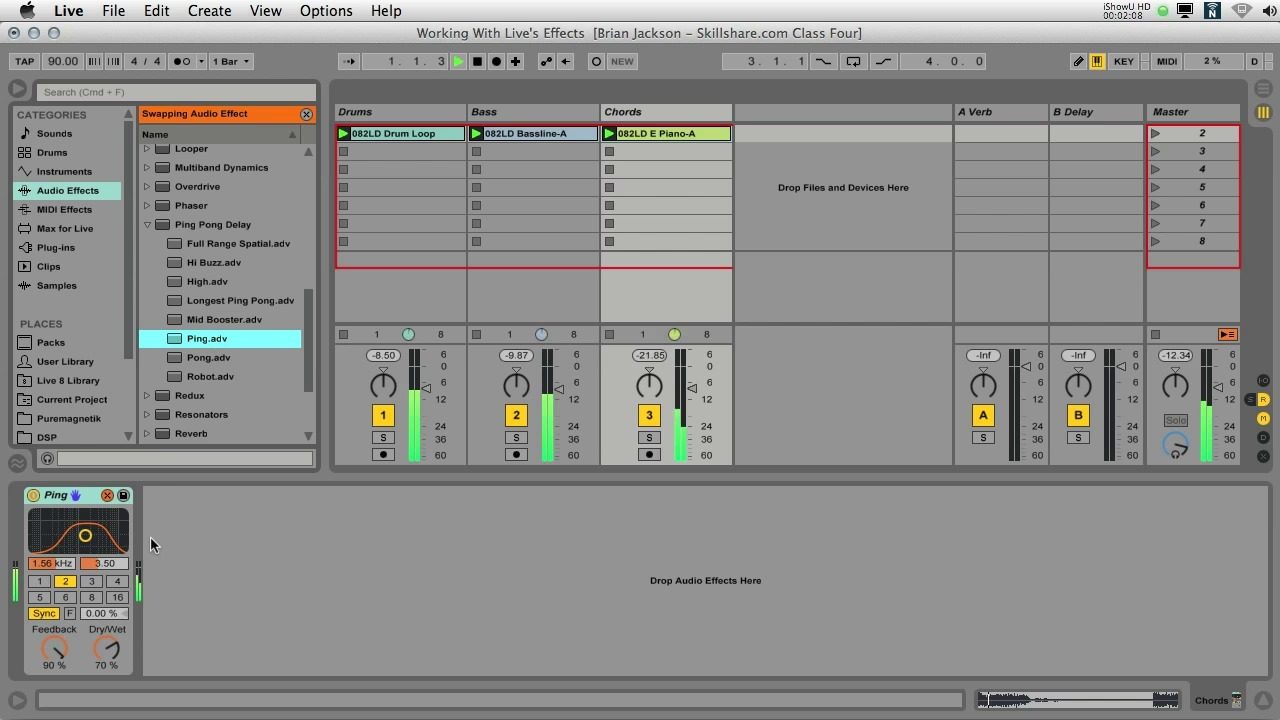 Ableton Live IV: Finishing a Track
