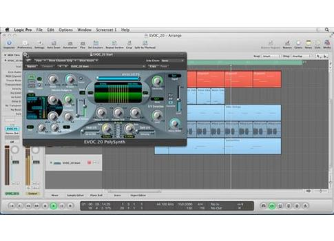 Virtual Instruments in Logic Pro