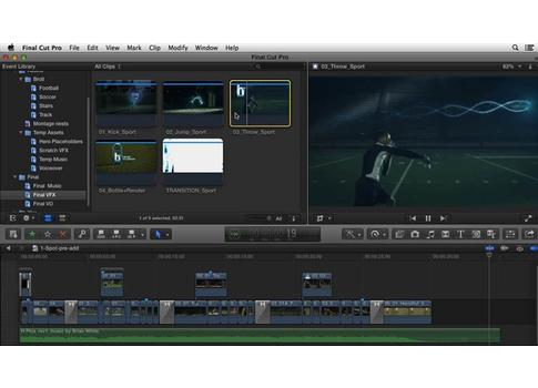 Commercial Editing Techniques with Final Cut Pro X
