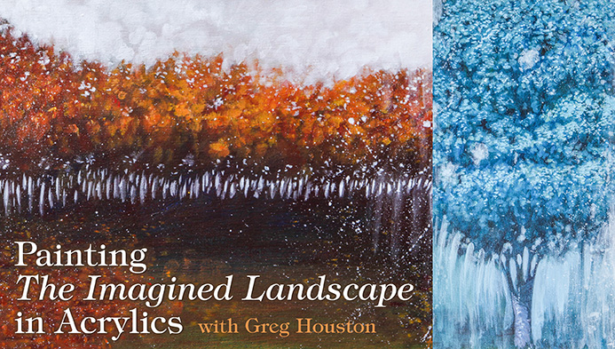 Painting the Imagined Landscape in Acrylics