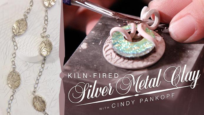 Kiln-Fired Silver Metal Clay