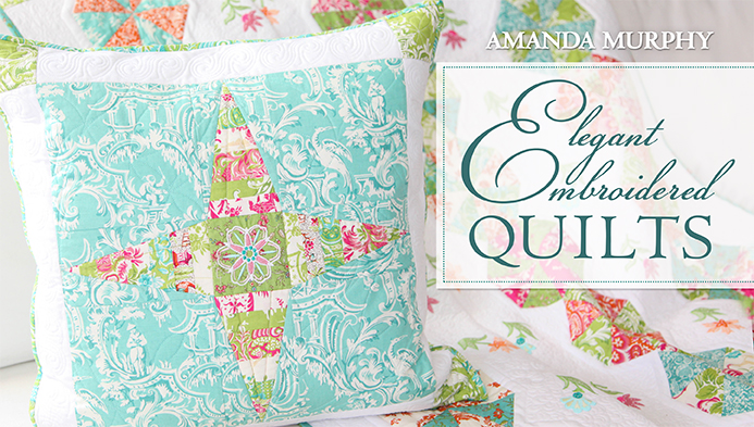 Elegant Embroidered Quilts