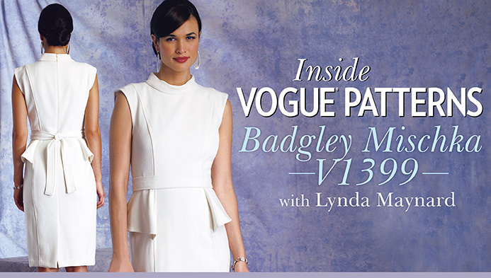 Inside Vogue Patterns: Badgley Mischka V1399