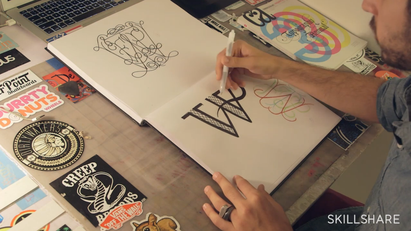 Exploring Letterforms through Monograms