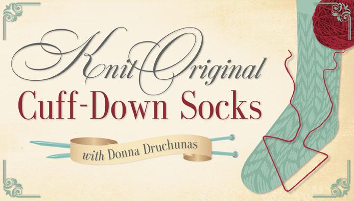 Knit Original Cuff-Down Socks