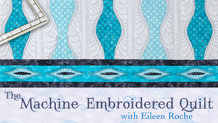 The Machine Embroidered Quilt