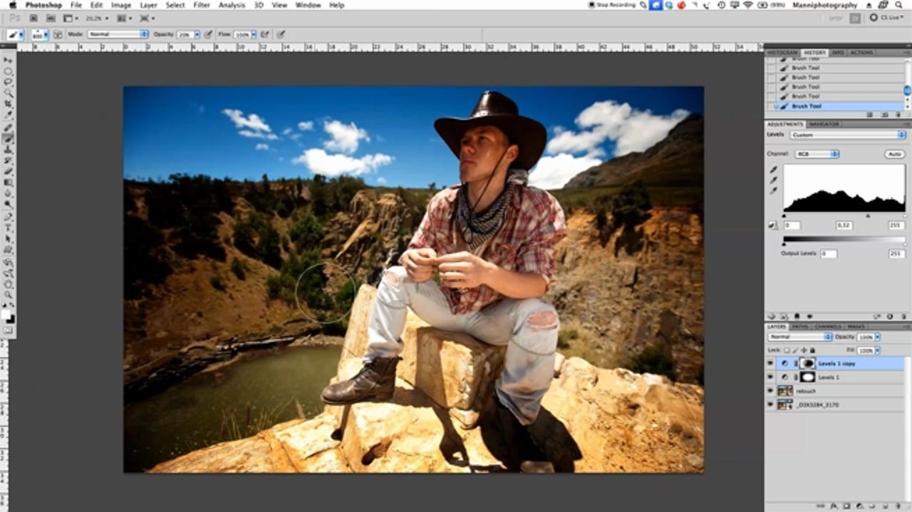 Creating a Vignette Effect in Photoshop