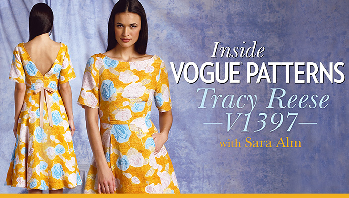 Inside Vogue Patterns: Tracy Reese V1397