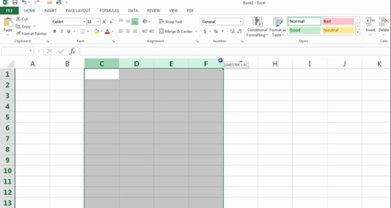 Master Excel 2013 for Beginners: I