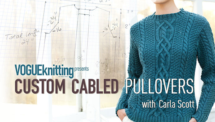 Custom Cabled Pullovers