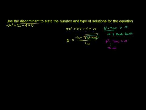Completing the square and the quadratic formula