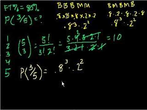 Probability using combinatorics
