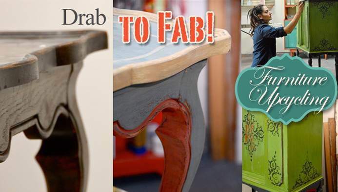 Drab To Fab Furniture Upcycling