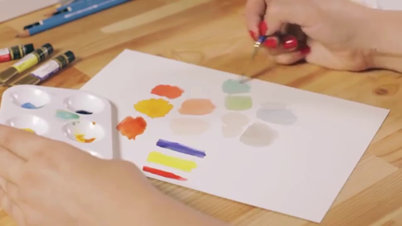 Basic Watercolors: Learn Painting with Paper Fashion
