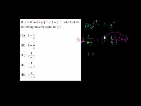 SAT Math: Level 5