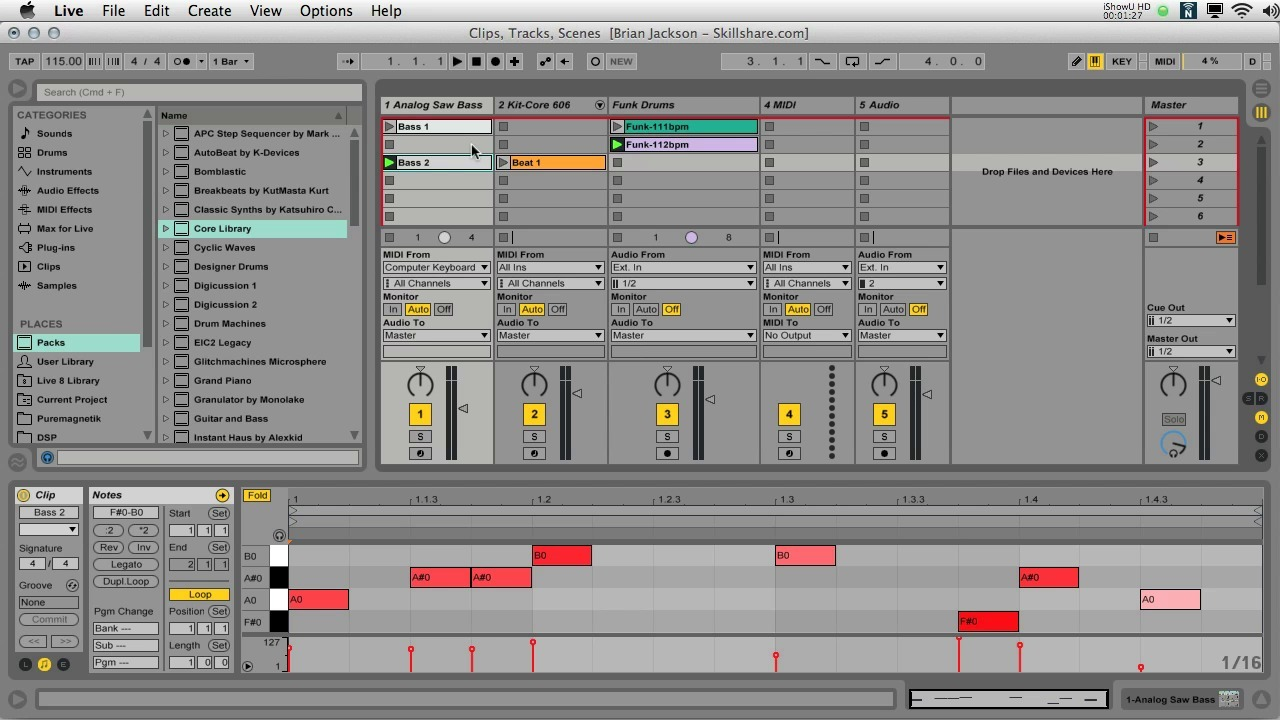 Ableton Live I: The First Steps of Digital Music Production