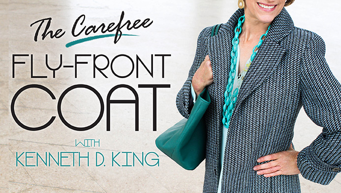 The Carefree Fly-Front Coat
