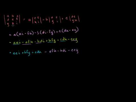 Finding inverses and determinants
