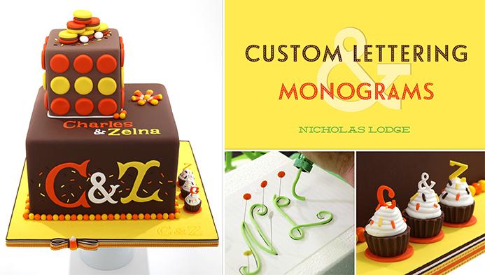 Custom Lettering & Monograms