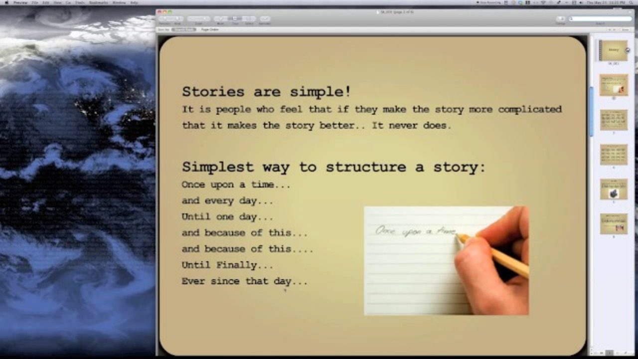 Constructing a Story: Advanced Visual Storytelling
